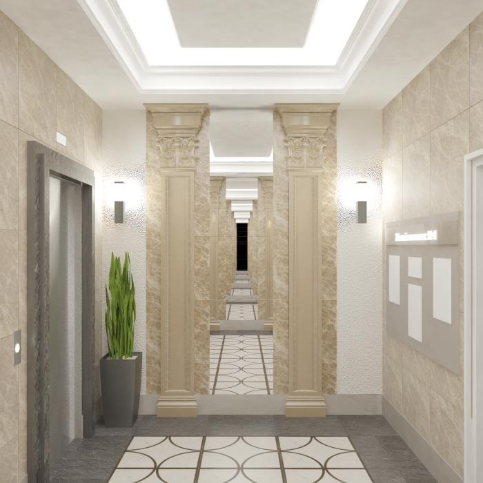 ЖК Город мастеров, отделка, комната, квартира, холл, коридор